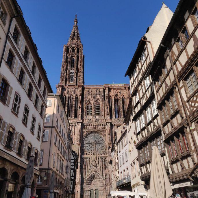 Animations au balcon à Strasbourg