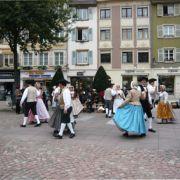 Du raisin au centre ville de Mulhouse