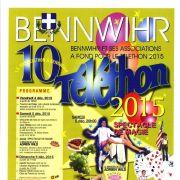 Animations du Téléthon 2015 à Bennwihr