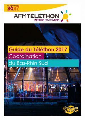 Animations du Téléthon 2017 dans le Bas-Rhin