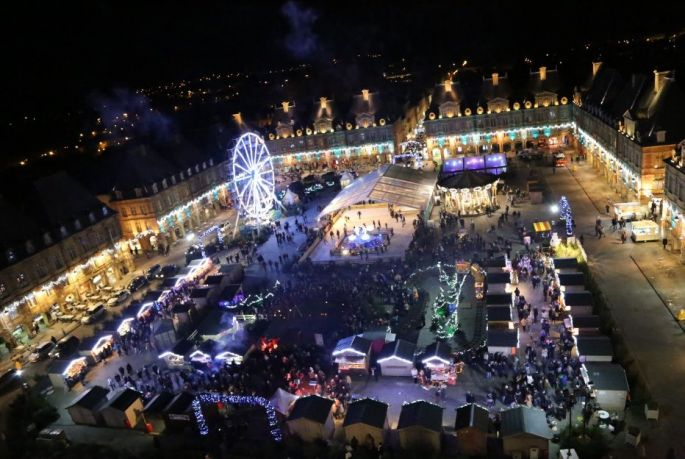 Animations et Marché de Noël 2017 à Charleville-Mézières