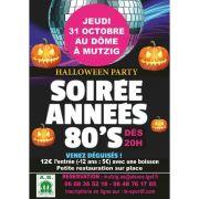 Soirée Années 80 - Halloween Party 2019