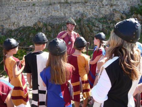 Un anniversaire médiéval au Château du Hohlandsbourg