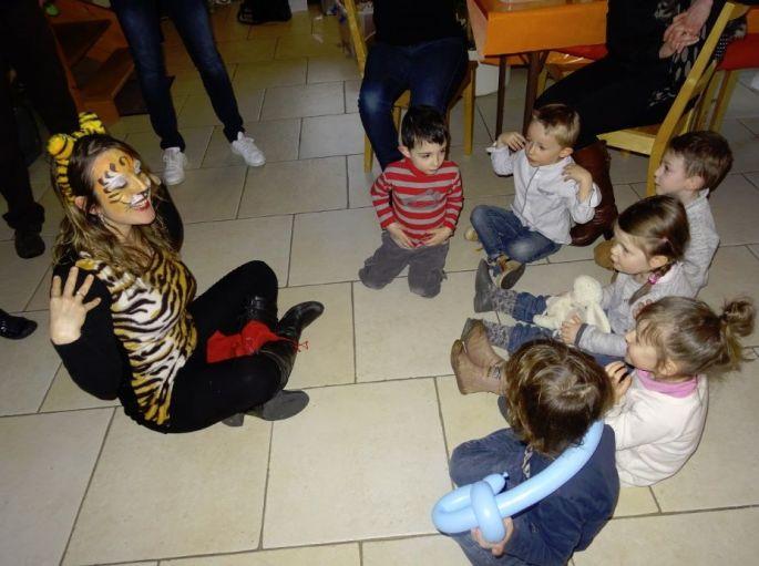 Anniversaire pour les enfants à domicile