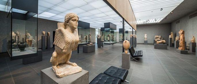 On peut admirer la collection égyptienne dans ce musée!