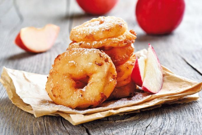Apfelkiechle : les beignets aux pommes alsaciens