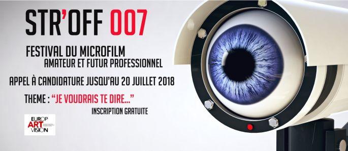 Appel à candidature STR\'OFF 007 : Festival du microfilm