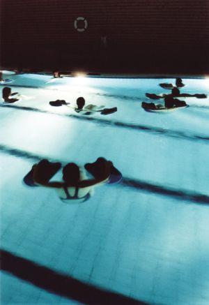 Les cours d\'aquafitness rencontre un vif succès, comme ici à la piscine de Munster
