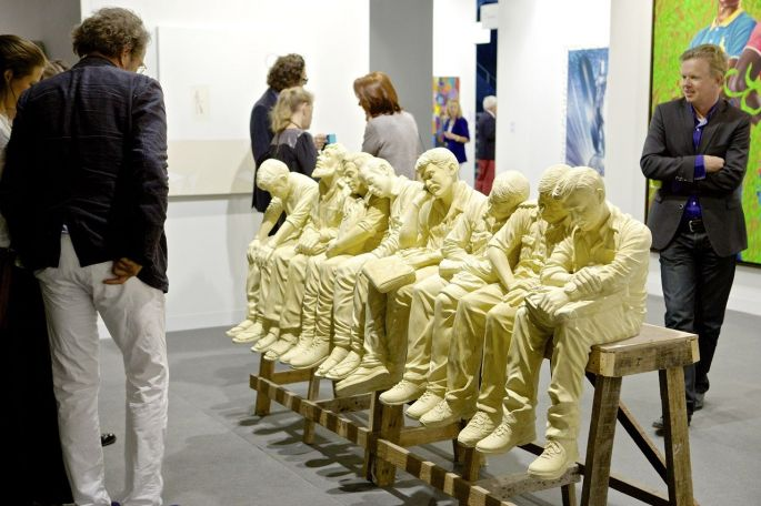 Art Basel 46 - Foire internationale 2015 d'Art contemporain