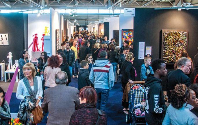 30 000 visiteurs se pressent à art3f à Mulhouse !
