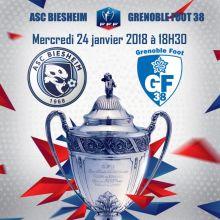 ASC Biesheim - Grenoble