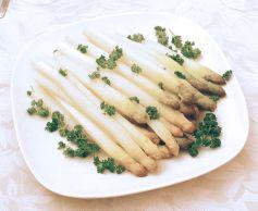 La recette des Asperges d'Alsace