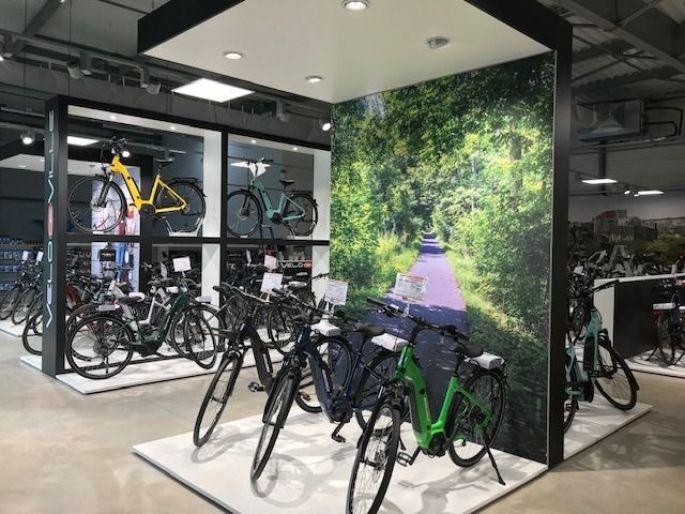 Le magasin AT Cycles Saint-Louis