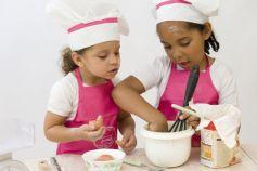 Pour les petits et les grands, des ateliers cuisine pour devenir de vrais petits chefs !