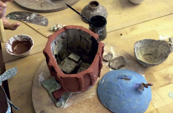 Atelier de céramique Karima Duchamp
