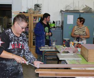 L\'Atelier du Beau à  Wittenheim : customisez vos vieux meubles à moindre frais!