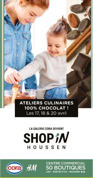 Ateliers culinaires 100% chocolat !