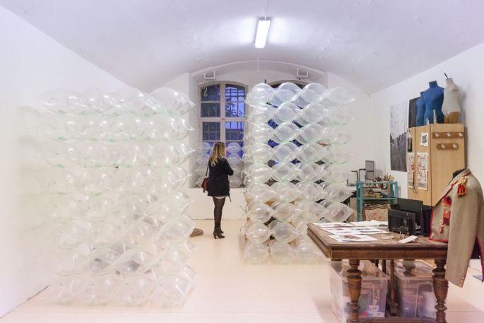 L\'atelier de Séverine Pawlowski au Bastion 14 à Strasbourg