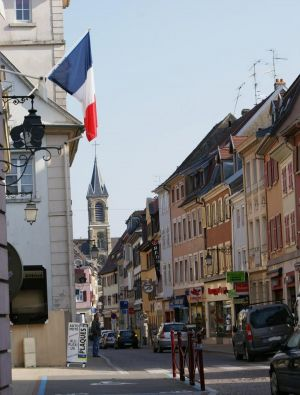 Au coeur d\'Altkirch, Rue Charles de Gaulle