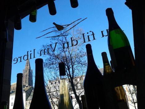 La cave Au Fil du Vin Libre se trouve à proximité de la Cathédrale de Strasbourg