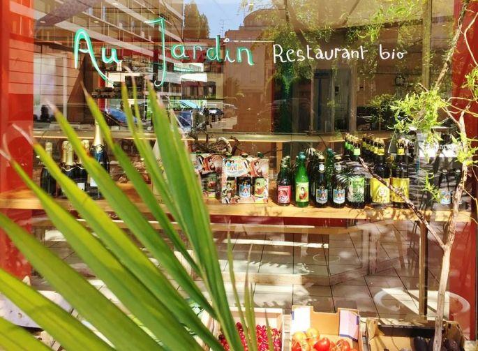 Au jardin mulhouse restaurant cuisine fran aise for Resto au jardin