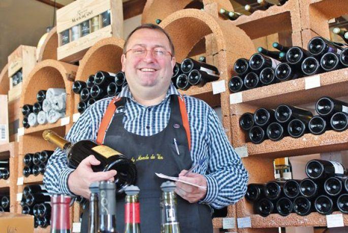 Fabrice Renner, du Monde du Vin à Saint-Louis