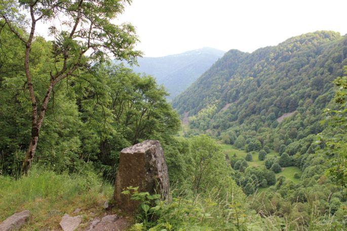 Le chemin François, en direction de Mitzeral
