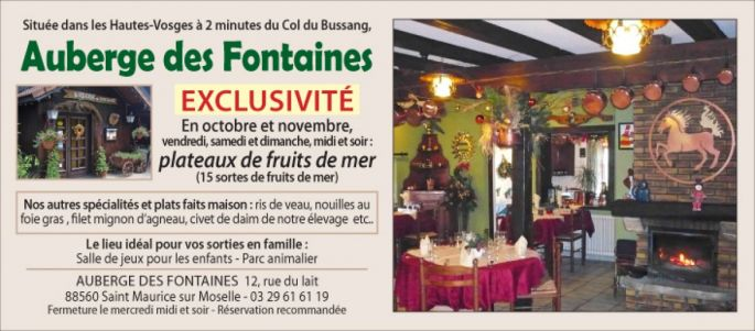 Auberge des Fontaines