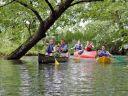 Aujourd'hui, je fais un tour en canoë!