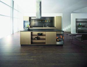 Modèle Treasure, une cuisine aux accents métallisés