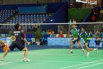 Le badminton est un sport de raquette où les échanges peuvent atteindre des vitesses folles.