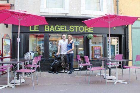 Le chef du Bagelstore vous attend pour vous préparer les bagels les plus originaux !