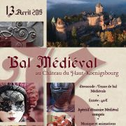 Bal masqué médiéval au Chateau du Haut-Koenigsbourg