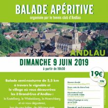 Balade apéritive à Andlau 2019