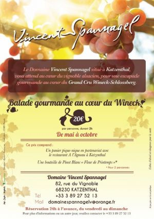 Balade gourmande au cœur du Wineck Schlossberg