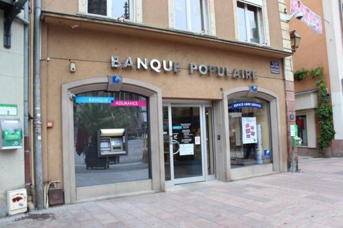 Banque Populaire - Place de la réunion à Mulhouse