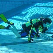 Baptême de plongée en piscine à Mulhouse