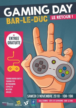 Bar-le-Duc Gaming Day 2018