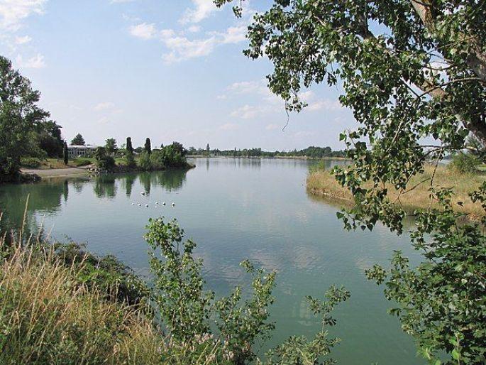 Base de loisirs de la Ramée à Tournefeuille en périphérie de Toulouse