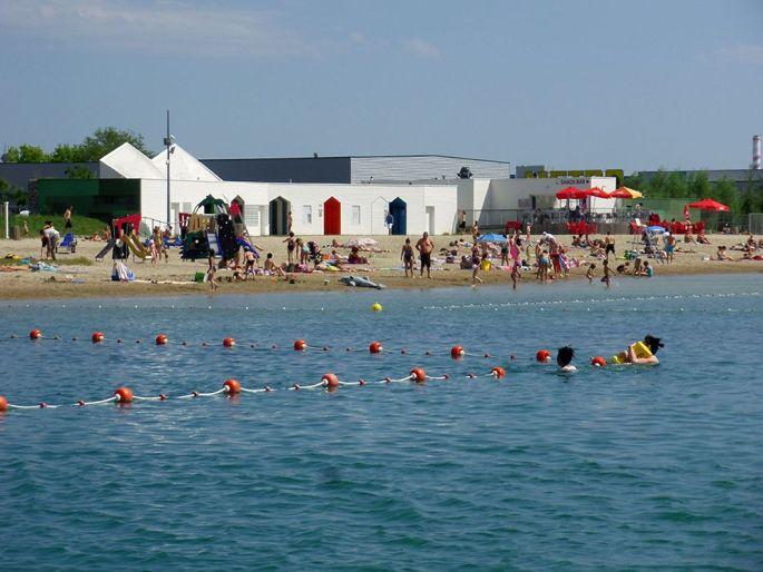 La base nautique de Colmar peut accueillir 1500 personnes par jour