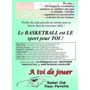 Basket club de Vieux Ferrette