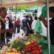 Bauernmarkt (marché paysan rhénan) 2018 à Neuenburg