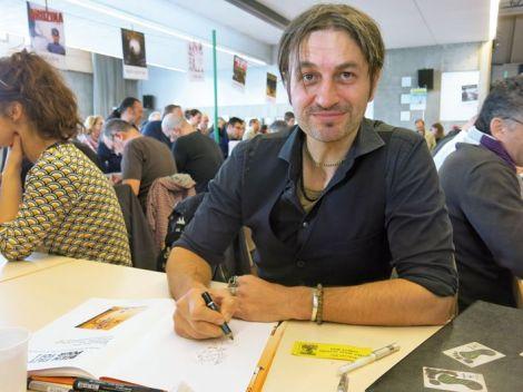 Dan, illustrateur du Petit Spirou, est le président de Bédéciné cette année