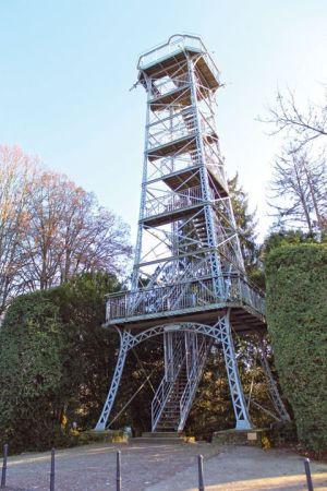 La tour du Belvédère à Mulhouse