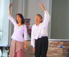 Bernard Guntz, artiste troubadour accompagné de Monique Deiber