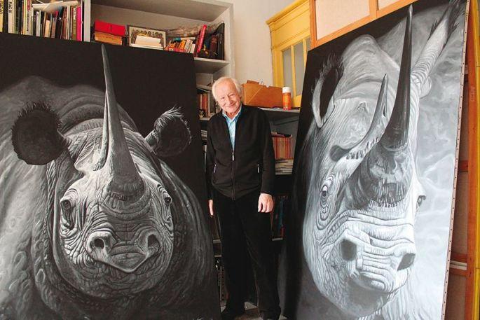 Bernard Latuner, peintre engagé