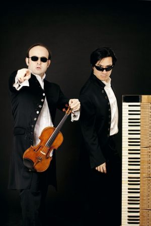 Aleksey Igudesman et Hyung-Ki Joo