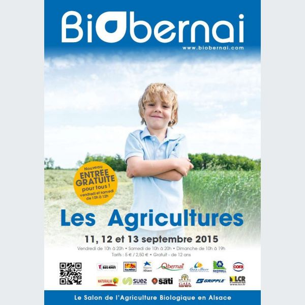 Biobernai 2015 le salon de l 39 agriculture biologique en alsace for Parking salon de l agriculture