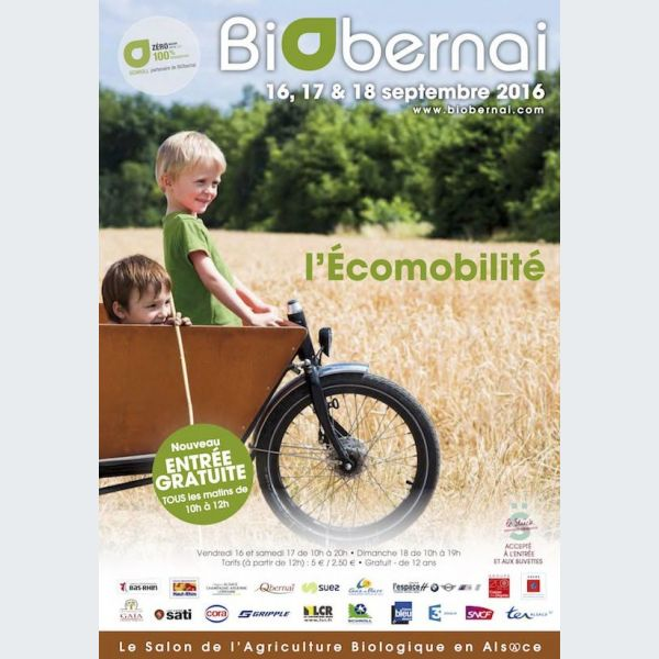 Biobernai 2016 foire et salon for Parking salon de l agriculture