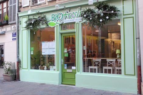 biofresh mulhouse restaurant v g tarien. Black Bedroom Furniture Sets. Home Design Ideas